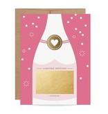 Fleurish Home Fuchsia Bubbly Scratch Off Card