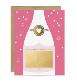 Fleurish Home Fuchsia Bubbly Scratch Off Card