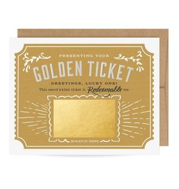 Fleurish Home Golden Ticket Scratch Off Card
