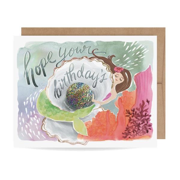 Fleurish Home Magical Mermaid Scratch Off Card