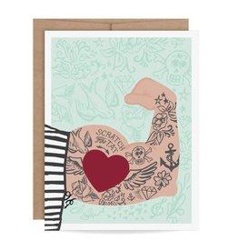 Fleurish Home Mom Tattoo Scratch Off Card