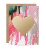 Fleurish Home Watercolor Heart Scratch Off Card