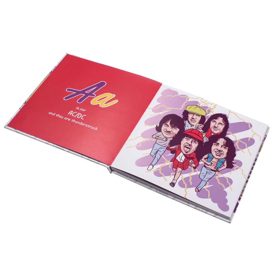 Little Homie ABC⚡DC: A Rock & Roll Inspired Alphabet Book