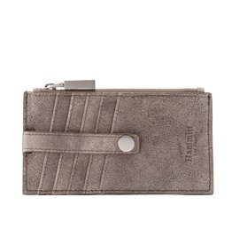 Hammitt 210 West Wallet- Pewter w Brushed Silver