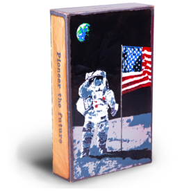 Houston Llew Houston Llew Spiritile: 237 Apollo *Limited Edition