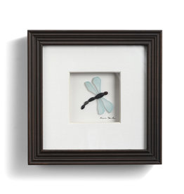 Fleurish Home Dragonfly Pebble Art 6x6