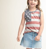 Fleurish Home Kids Vintage Style 4th of July Sleeveless Tee