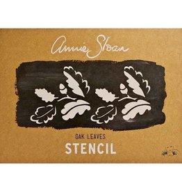 Annie Sloan A3 Oak Leaves Stencil Annie Sloan
