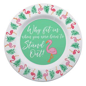 Fleurish Home Flamingo Melamine Platter *last chance