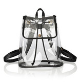 Fleurish Home Clear Stadium Backpack *last chance