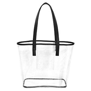 Fleurish Home Clear Stadium Tote *last chance