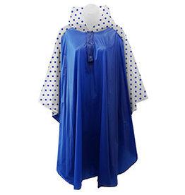 Fleurish Home Rain Poncho Royal Blue