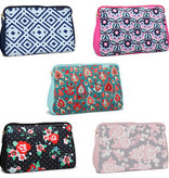 Fleurish Home Lg Neoprene Makeup Bag