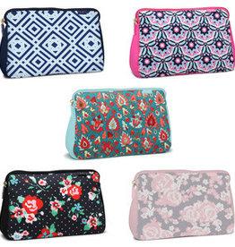Fleurish Home Lg Neoprene Makeup Bag
