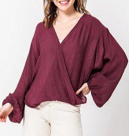 Fleurish Home Long Sleeve Popover Kimono Top