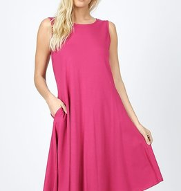 Fleurish Home Cotton A-Line Dress w Pockets