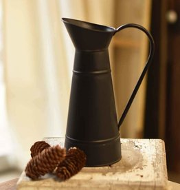 Fleurish Home Betty Pitcher Black 11.5""