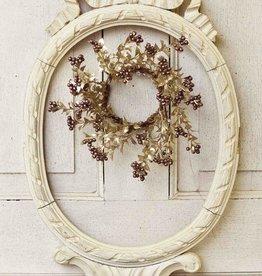 Fleurish Home Dancing Dancer Candle Ring Mini Wreath