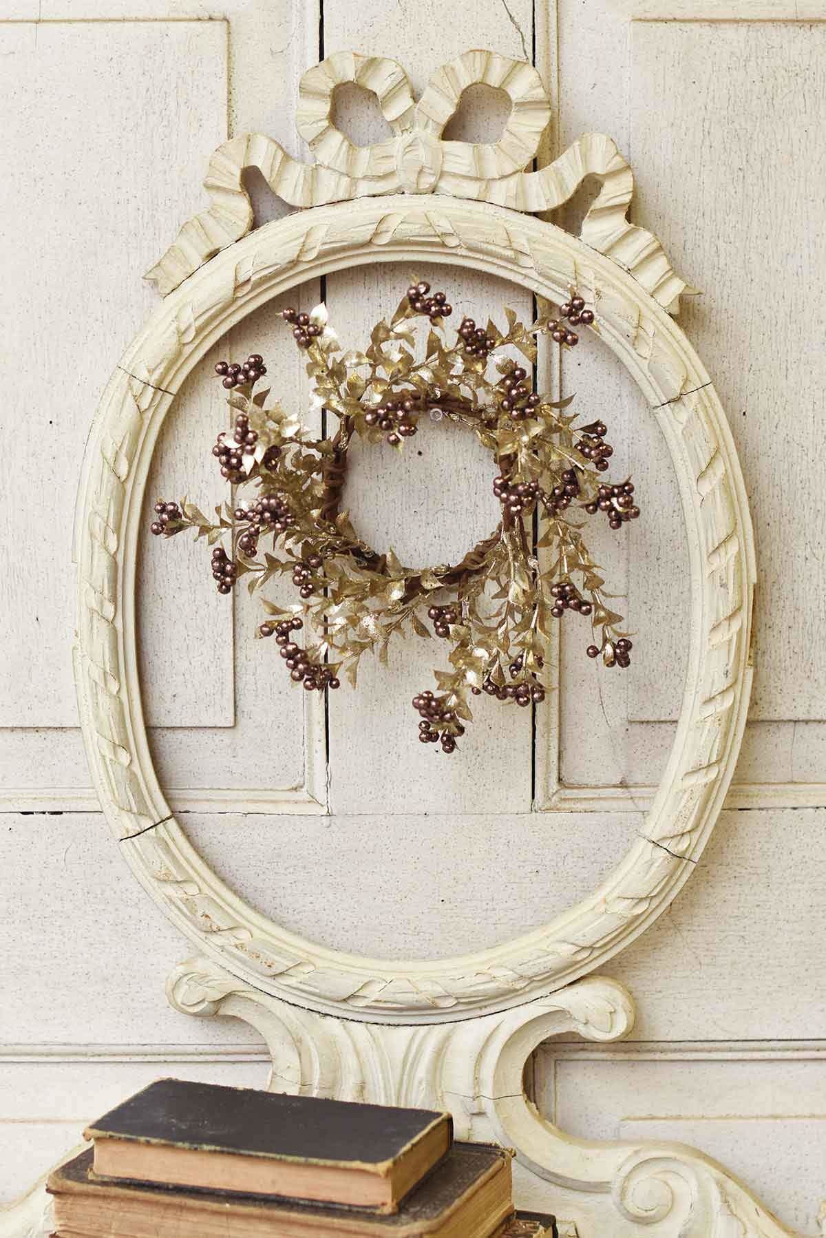 Fleurish Home Dancing Dancer Candle Ring Mini Wreath