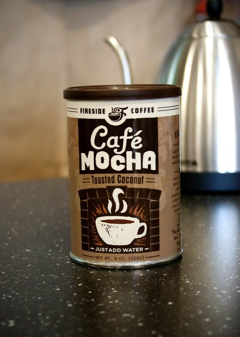 Fireside Coffee Co. Toasted Coconut Cafe Mocha