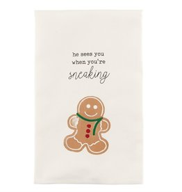 Mudpie COOKIE ICON TEA TOWEL