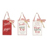 Mudpie Magic Key Plaque (choice of 3 styles) **  (Basket-3A)