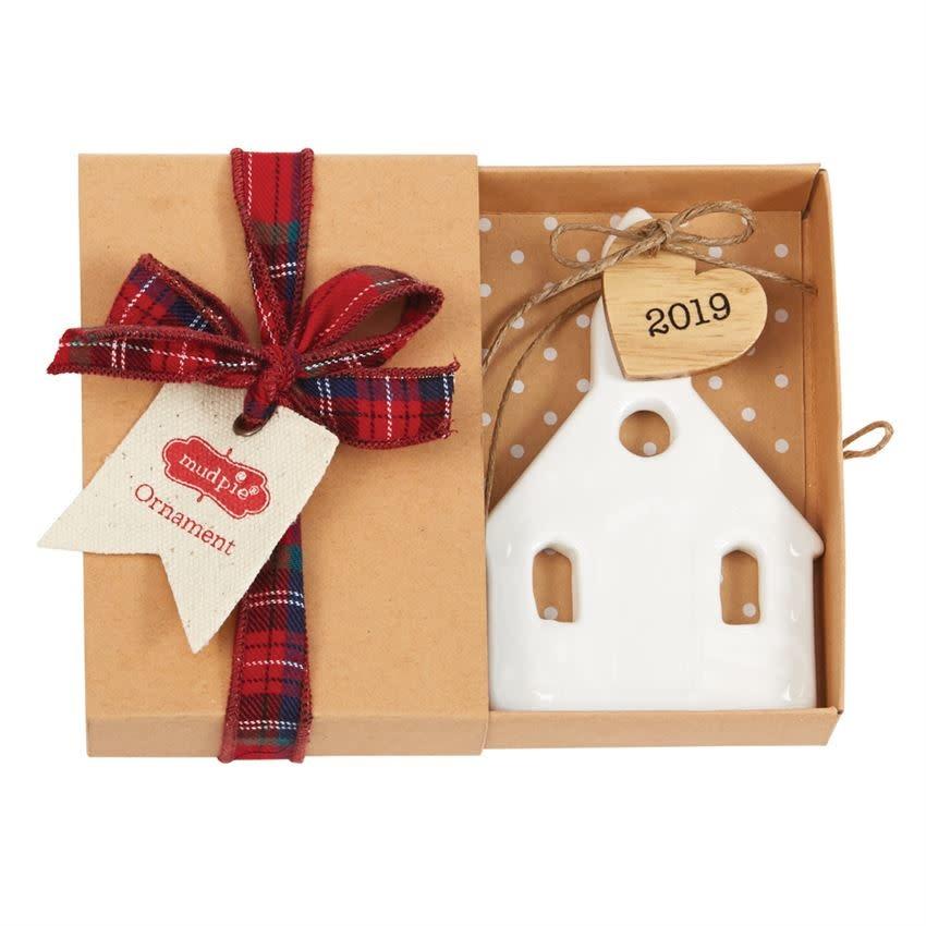 Mudpie Church 2019 Ceramic Ornament
