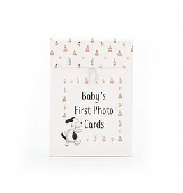 Jellycat Bashful Puppy Baby's First Photo Cards