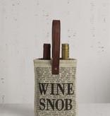 Wine Snob Double Wine Bag