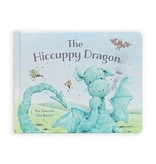 Jellycat The Hiccuppy Dragon Book