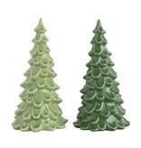"Fleurish Home Lg Green Stoneware Tree 8"" (choice of 2 colors)"