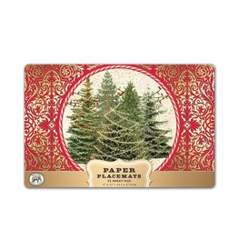 Michel Design Works O Tannenbaum Paper Placemats