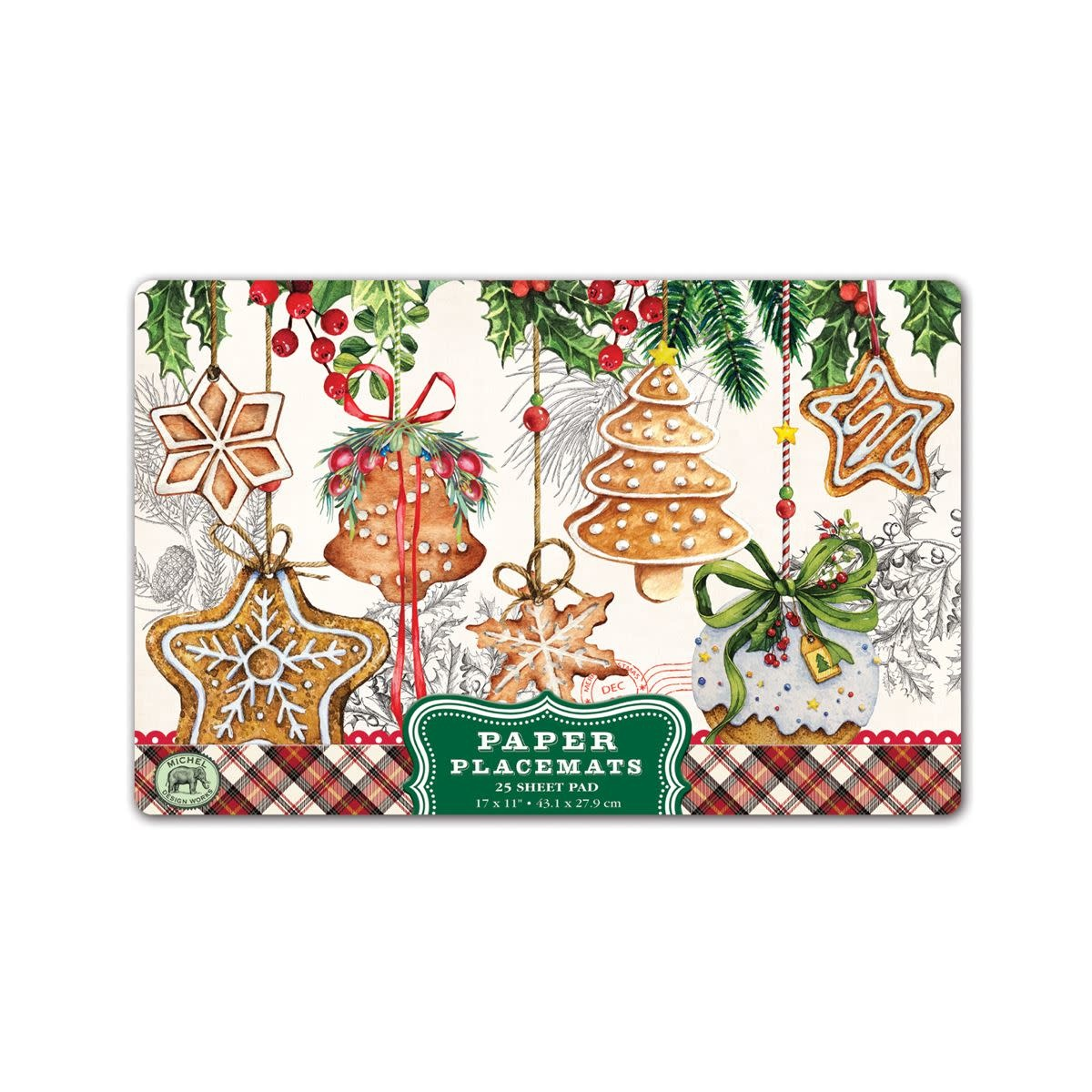 Michel Design Works Holiday Treats Placemats