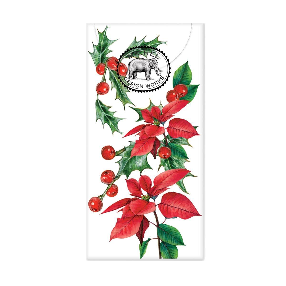 Michel Design Works Poinsettia Pocket Tissues