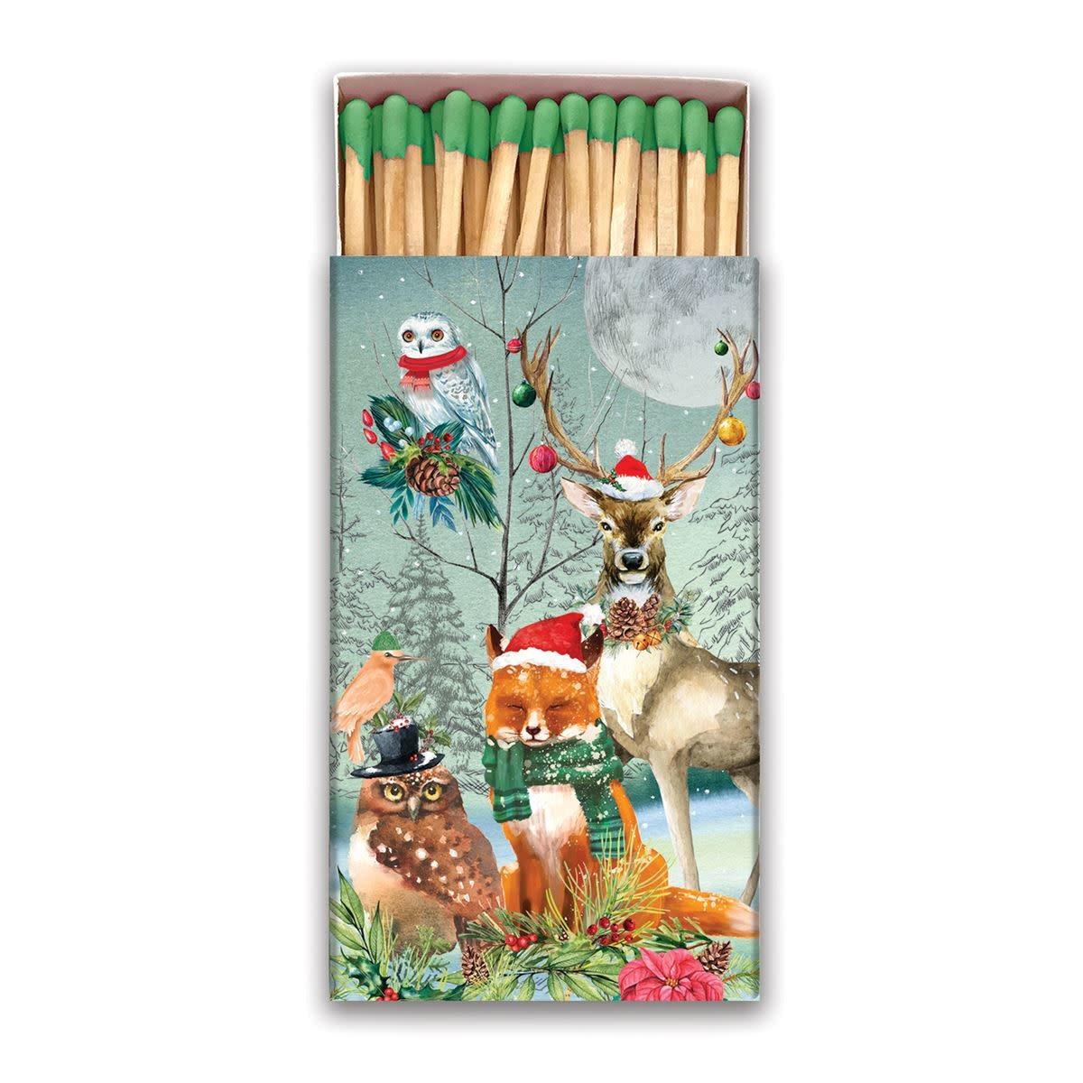 Michel Design Works Christmas Party Matchbox