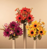 Fleurish Home Mixed Daisy Bush (choice of 3 styles)