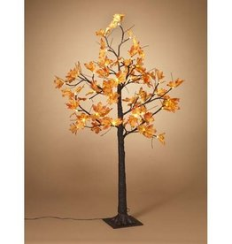 Fleurish Home 4'H Maple Leaf LED Lighted Tree (indoor/outdoor electric)