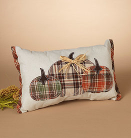 Fleurish Home Harvest Pumpkin Design Pillow