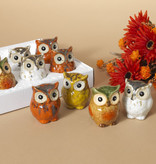Fleurish Home Sm Ceramic Owl (choice of 4 styles)