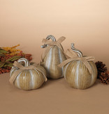 Fleurish Home Sm Neutral Strie Pumpkin (choice of 3 styles)