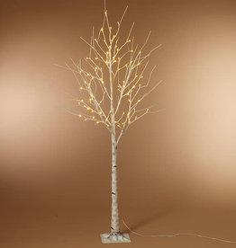 Fleurish Home 6' Birch LED Lighted Tree