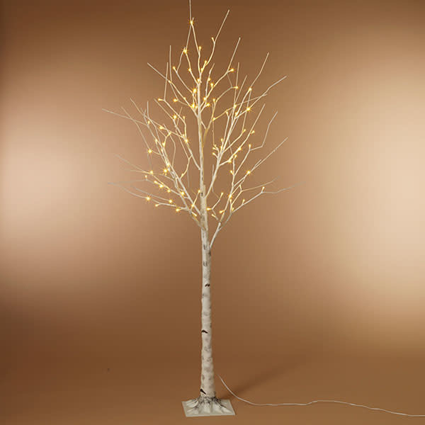 Fleurish Home 6' Birch LED Lighted Tree