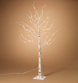 Fleurish Home 4' Birch LED Lighted Tree