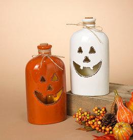 Fleurish Home Lg Lighted Ceramic Halloween Bottle (choice of 2 styles)
