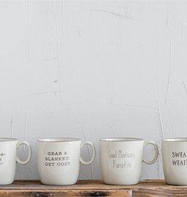 Fleurish Home Fall Saying Ceramic Mug (choice of 4 styles) 16 oz.