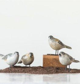 Fleurish Home Painted Bird w Metal Feet (choice of 4 styles)