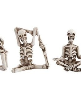 Fleurish Home Sm Skeleton in Yoga Pose (choice of 4 styles)