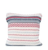 Fleurish Home Striped Cotton Knit Pillow
