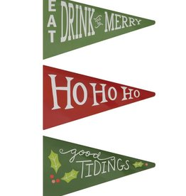 Fleurish Home Holiday Pennant Matches Pack (choice of 3 styles)