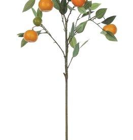 "Fleurish Home Faux Orange Tree Branch (34"")"